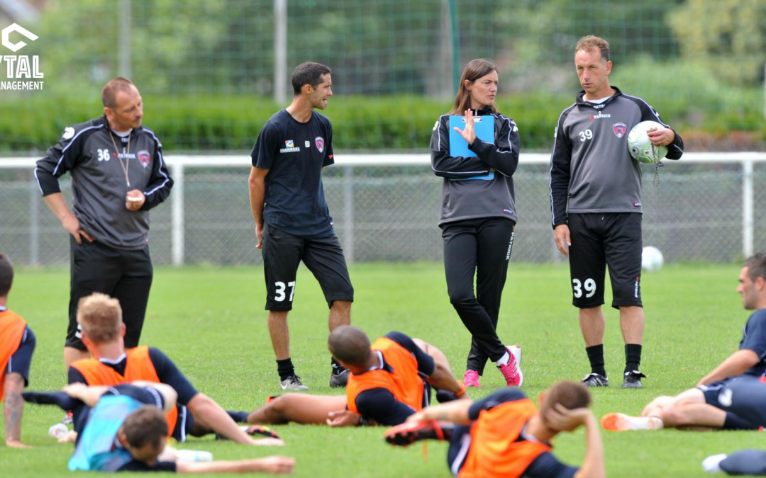 Women Coaching a Professional Men's Football Team