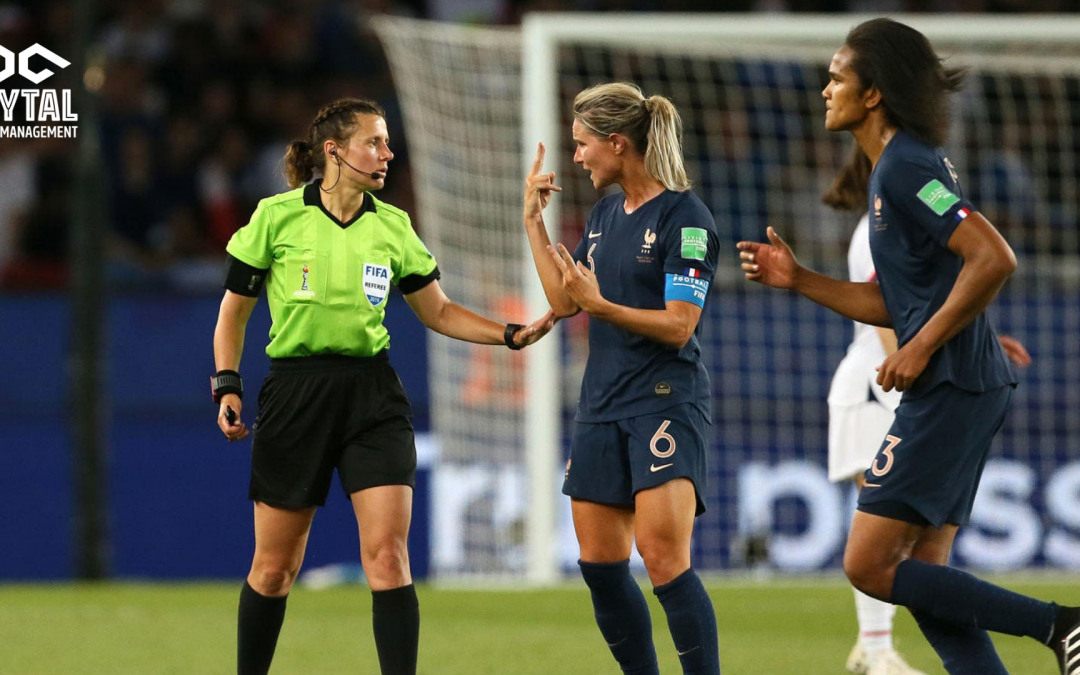 The Place of Women Referees in Men's Football