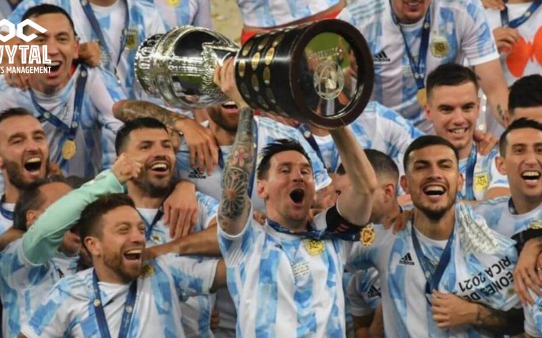 Messi Champion at Last as Argentina Triumph over Brazil in the Copa America Finals.